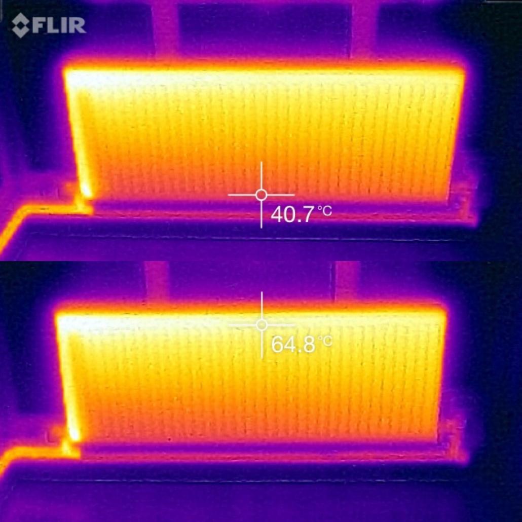 термография на радиатор